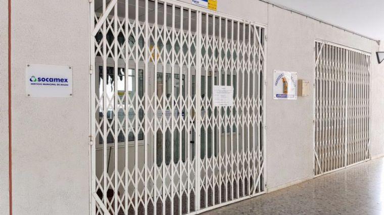 La Oficina de Socamex abre el próximo lunes 18 de mayo
