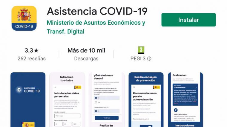 Salud pone en marcha en la Región la App 'Asistencia COVID 19'