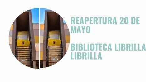 La Biblioteca de Librilla reabre este miércoles 20 de mayo