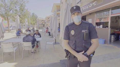 VÍDEO La Policía Local recuerda las normas para las terrazas