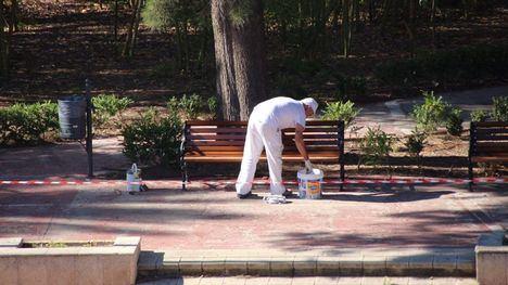 FOTOS Parques y jardines se preparan para su reapertura