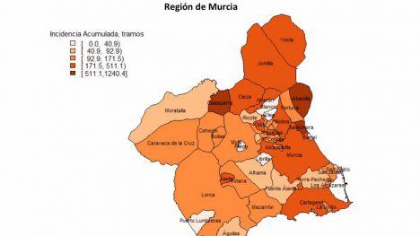 Alhama, entre los municipios con casos positivos en 2 semanas