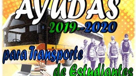 Convocan las ayudas para transporte de estudiantes