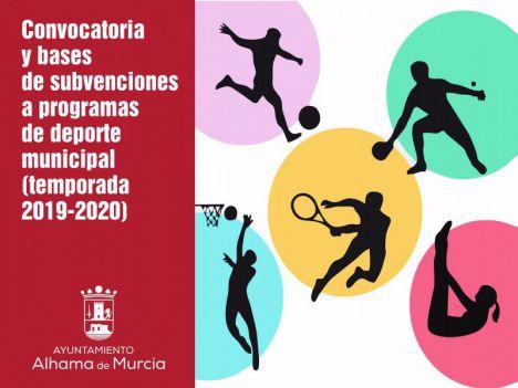Abierta la nueva línea de ayudas a programas deportivos