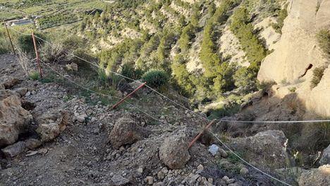 FOTOS Reparan la Cuesta del Salto tras los daños por la lluvia