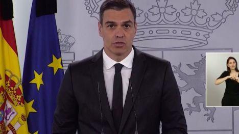 El presidente Sánchez anuncia una