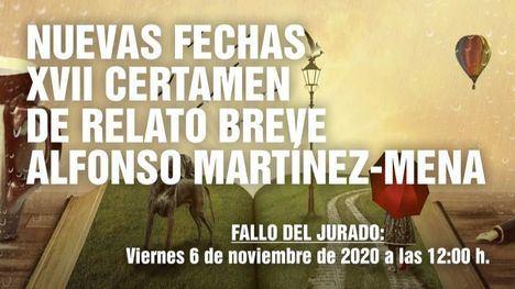 Nuevas fechas del XVII Certamen 'Alfonso Martínez-Mena'