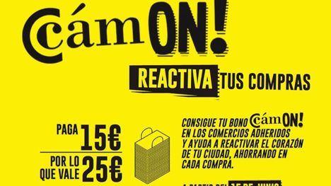 El Ayuntamiento aporta 12.000 euros a los bonos del 'Cam-On!'