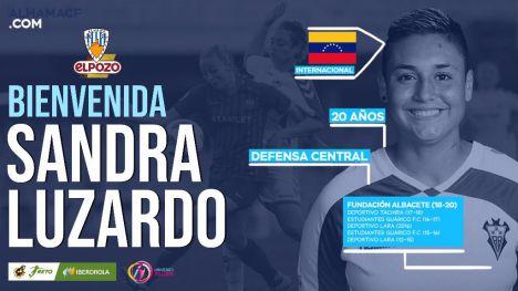 Segundo fichaje del Alhama CF ElPozo: Sandra Luzardo
