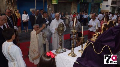 San Lázaro acoge el domingo 14 de junio el Corpus Christi