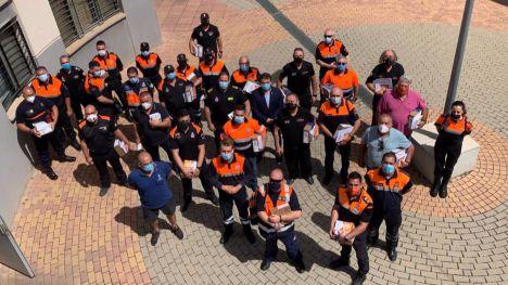 Protección Civil recibe nuevos equipos de radiocomunicación