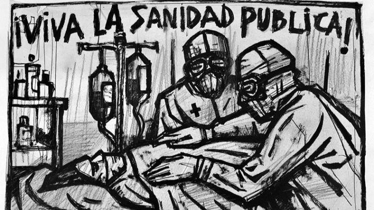 Viva la Sanidad Pública, de Carlos García-Alix.