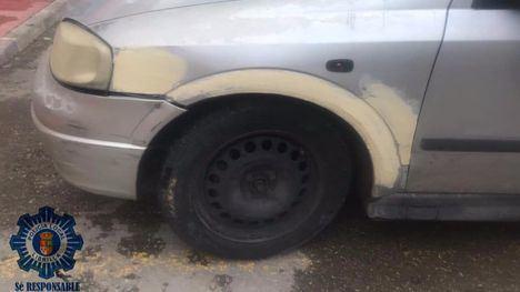 La Policía de Librilla localiza e identifica al conductor fugado