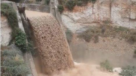 FOTOS Cortados varios caminos en Librilla y Sangonera por la lluvia