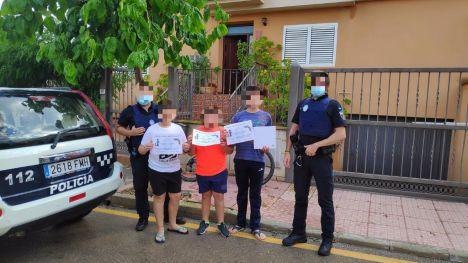 La Policía Local entrega los premios del sorteo #YoPorTiMeQuedoEnCasa