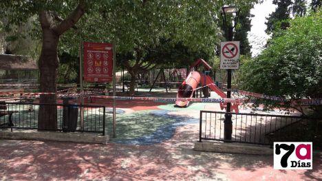 VÍDEO/FOTOS Parques y jardines inician su desescalada
