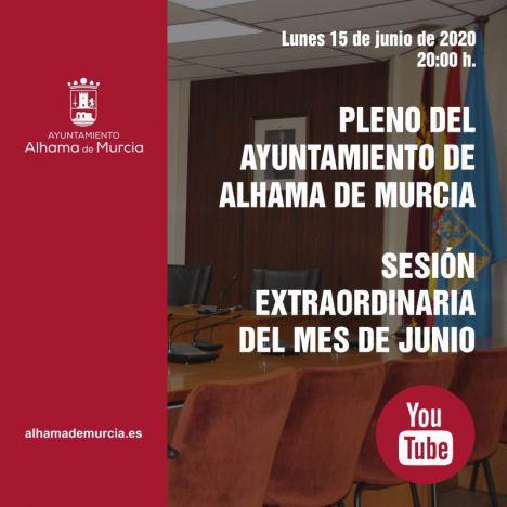 El Pleno de Alhama se reúne el lunes en sesión extraordinaria