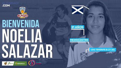 Noelia Salazar, quinto fichaje del Alhama CF ElPozo