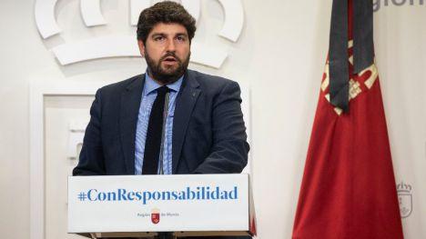López Miras pide controles de movilidad tras el estado de alarma