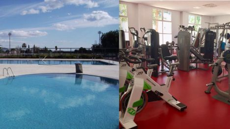 La piscina de verano y el gimnasio reabren el lunes 29 de junio