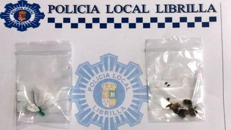 Dos días seguidos 'pillado' con droga en Librilla