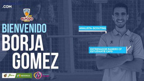 El Alhama CF ElPozo ficha al analista Borja Gómez