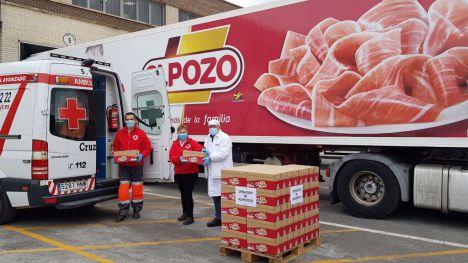 ElPozo dona más de 200.000 raciones de alimentos a los sectores más vulnerables