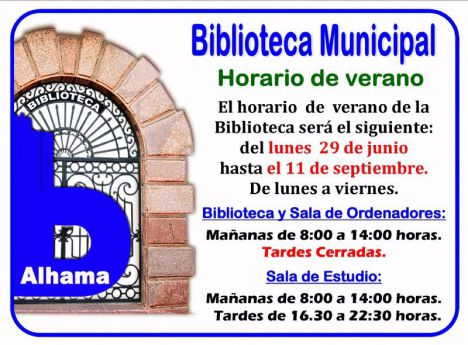 VÍDEO La Biblioteca inaugura su horario de verano este miércoles