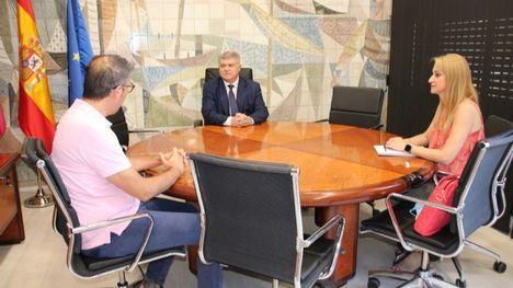VÍDEO Delegación y Alhama preparan la junta local de seguridad