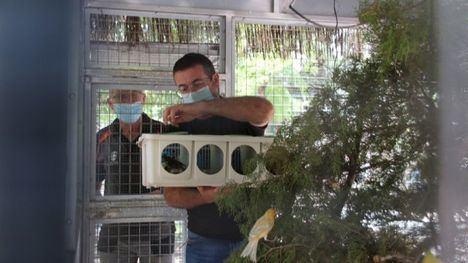 V/F La pajarera del Parque de La Cubana vuelve a la vida