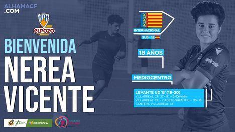 Nerea Vicente, noveno refuerzo del Alhama CF ElPozo
