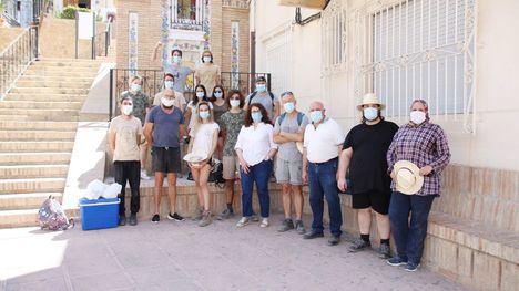 FOTOS Arrancan los trabajos en Las Paleras y El Murtal