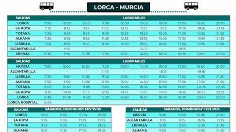 Orbitalia amplía los servicios de autobús Murcia-Lorca