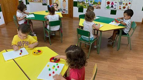 FOTOS Vuelve la actividad a las aulas del CEI Traviesos