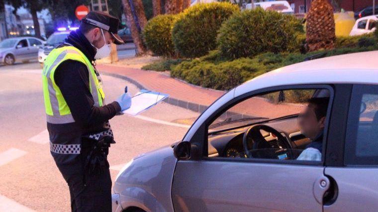 La Policía de Alhama cursa 1.192 sanciones en el estado de alarma