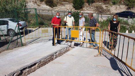 VÍD/FOT La nueva red de agua de Gebas, para finales de agosto