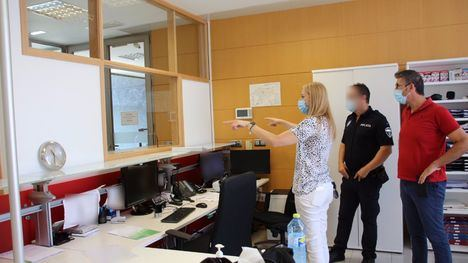 FOTOS Policía Local cuenta con una nueva recepción en Comisaría