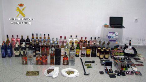 VÍD. Dos detenidos por robo durante el estado de alarma en Alhama