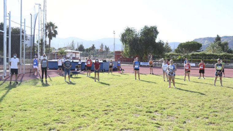 Gran fin de semana de lanzamientos en la pista de Atletismo en Alhama