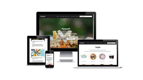 Palancares renueva el diseño de su web y tienda on line