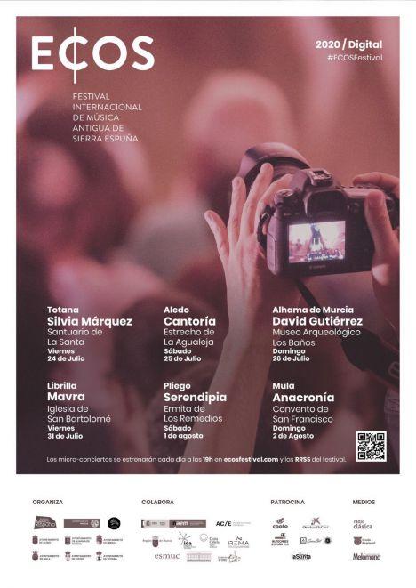 Los miniconciertos del ECOS Festival comienzan este viernes