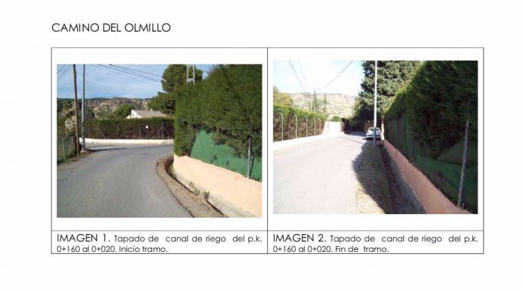 La obra de mejora de los caminos del Ramblar y el Olmillo, adjudicada