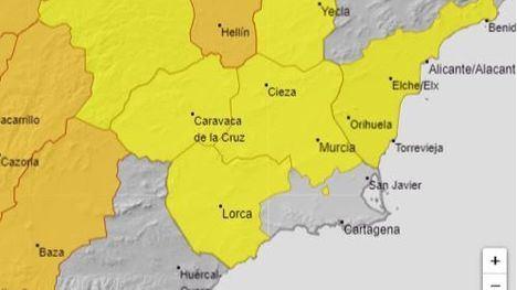 El Valle del Guadalentín continúa en alerta amarilla por el calor