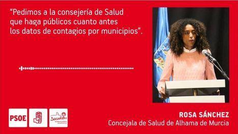 VÍDEO Alhama exige a la Región datos por municipios de contagios
