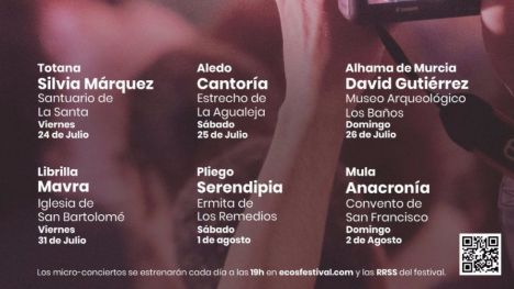 ECOS Festival aplaza a septiembre los conciertos en vivo