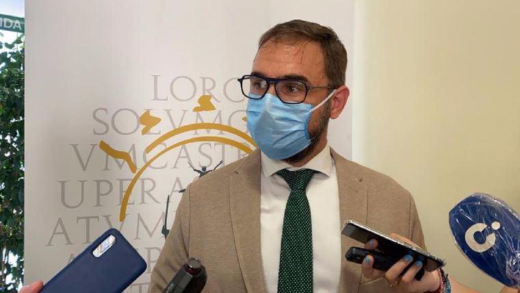 El alcalde de Lorca, Diego José Mateos.