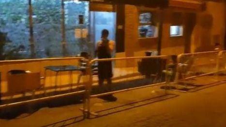 VÍDEO Ésta es la grabación de la agresión este viernes en Totana