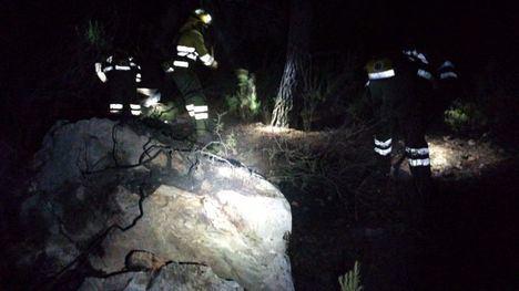 FOTOS Extinguido el conato de incendio en Sierra Espuña