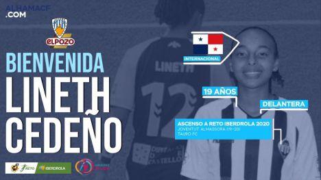 El Alhama CF ElPozo ficha a la panameña Lineth Cedeño