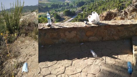 Sierra Espuña no necesita tus residuos